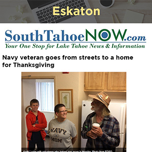 Navy veteran goes from streets to a home for Thanksgiving