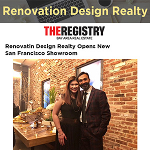 Renovation Design Realty Opens New San Francisco Showroom