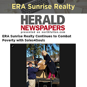 ERA Sunrise Realty Continues to Combat Poverty with Soles4Souls