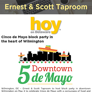 Cinco de Mayo block party in the heart of Wilmington