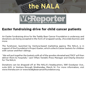 Easter fundraising drive for child cancer patients
