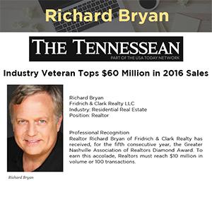 Industry Veteran Tops $60 Million in 2016 Sales