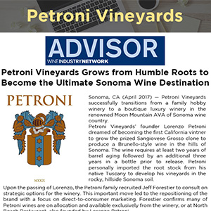 Petroni Vineyards Grows from Humble Roots to Become the Ultimate Sonoma Wine Destination