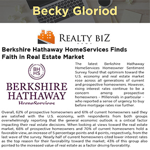 Berkshire Hathaway HomeServices Finds Faith in Real Estate Market