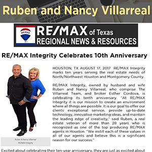 RE/MAX Integrity Celebrates 10th Anniversary