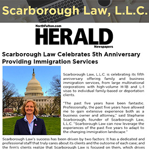 Scarborough Law Celebrates 5th Anniversary Providing Immigration Services
