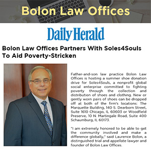 Bolon Law Offices Partners With Soles4Souls To Aid Poverty-Stricken