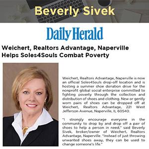 Weichert, Realtors Advantage, Naperville Helps Soles4Souls Combat Poverty