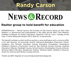 Realtor group to hold benefit for education