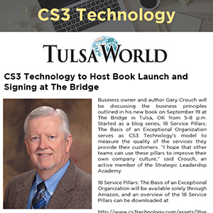 CS3 Technology to Host Book Launch and Signing at The Bridge