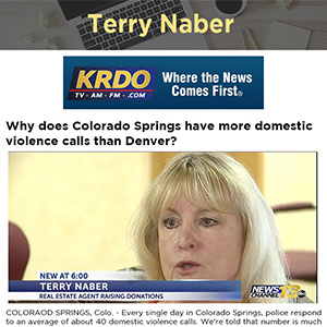 Why does Colorado Springs have more domestic violence calls than Denver?