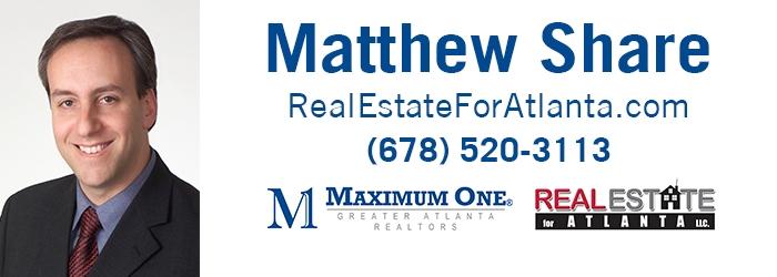 Matthew Share Real Estate for Atlanta